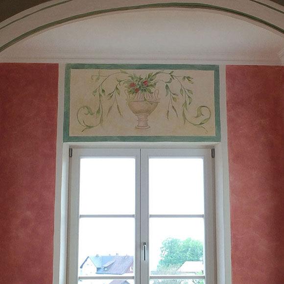 Wandgestaltung, Wandmalerei