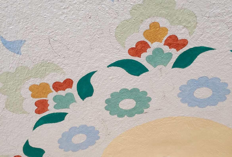 Dekorationsmalerei, Torbogen