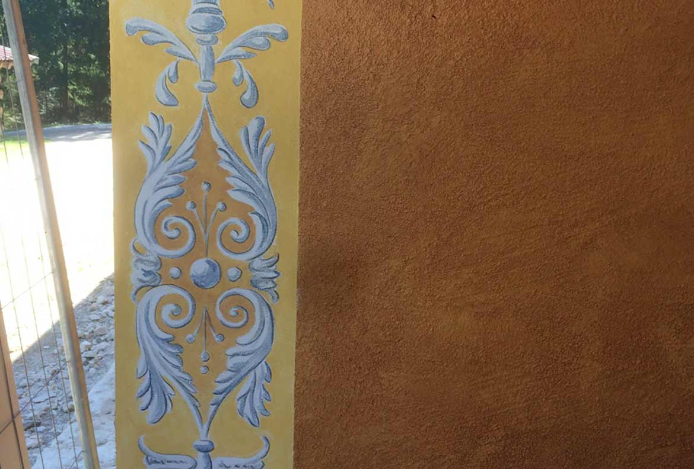 Dekorationsmalerei, Eingangsbereich