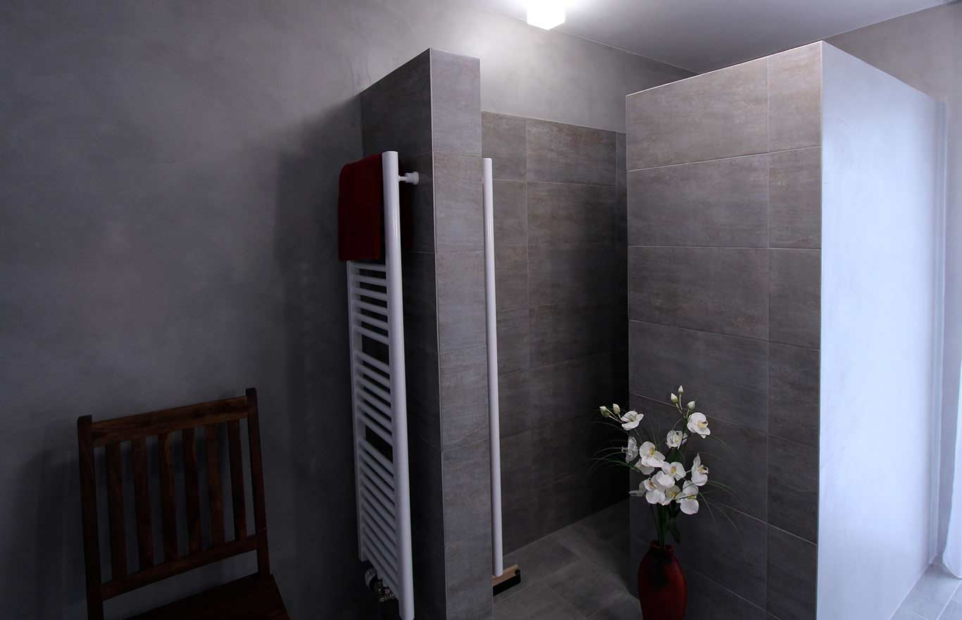 Wandgestaltung, Pandomo Wand, Badezimmer