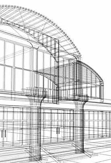 Gebäude, Haus, Plan, Skizze, Zeichnung