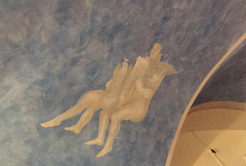 Sternenhimmel, Dekorationsmalerei