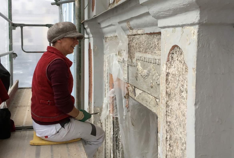 Fassade, Restaurierung