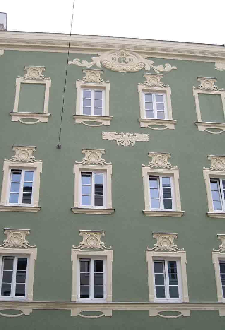 Restaurierung Fassade